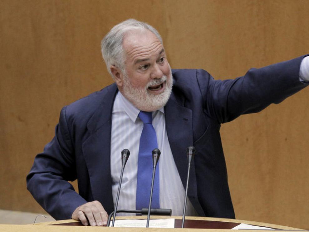 El ministro Arial Cañete