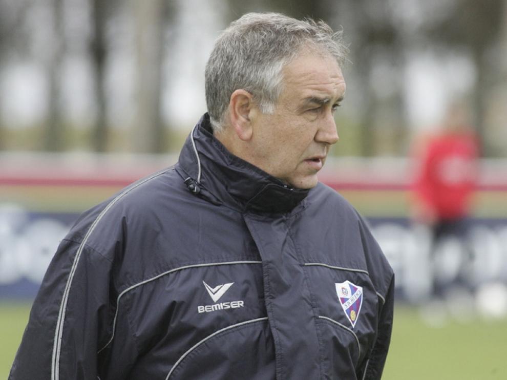 Entrenador del Huesca