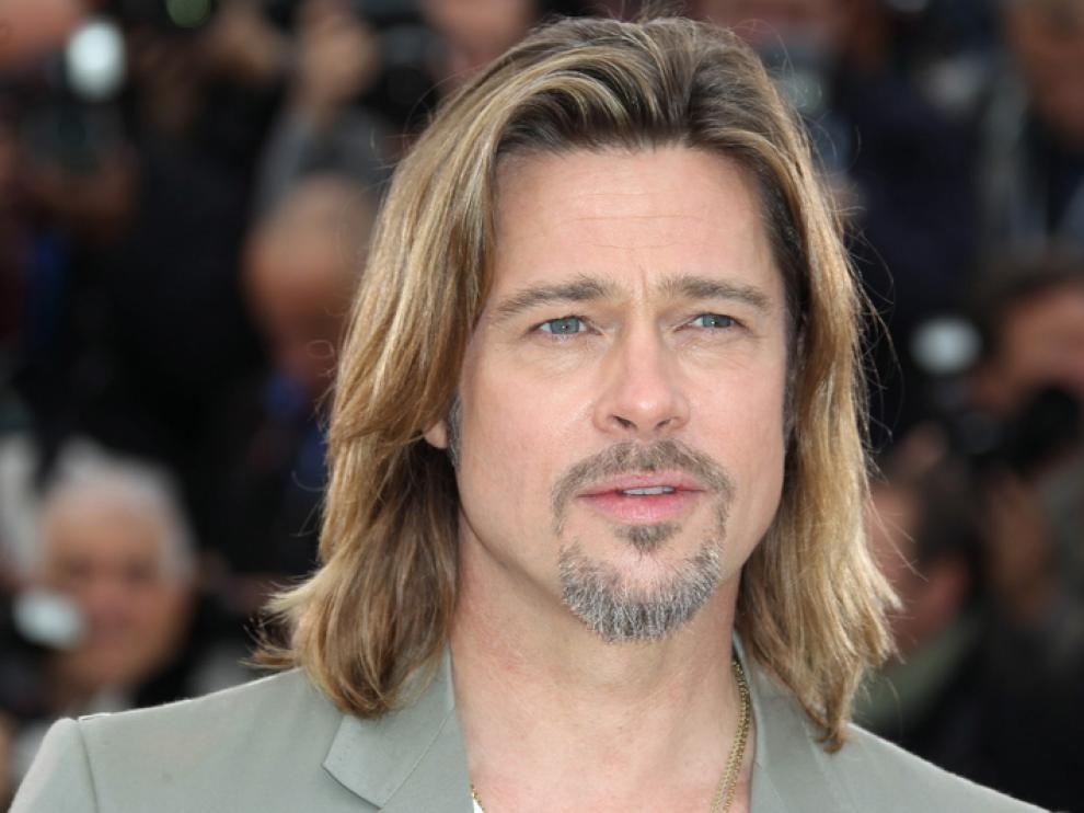 Brad Pitt en su llegada a Cannes