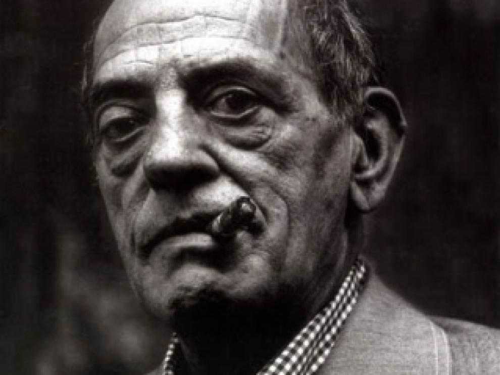 El director de cine aragonés Luis Buñuel