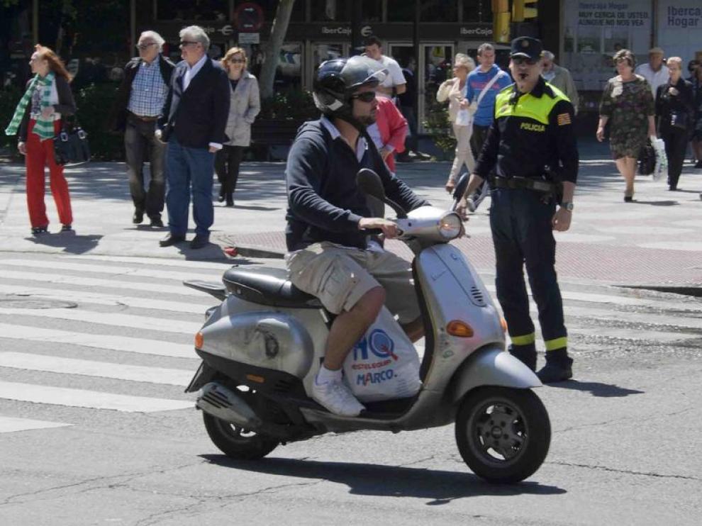 La Policia colabora con la DGT en la vigilancia de motocicletas