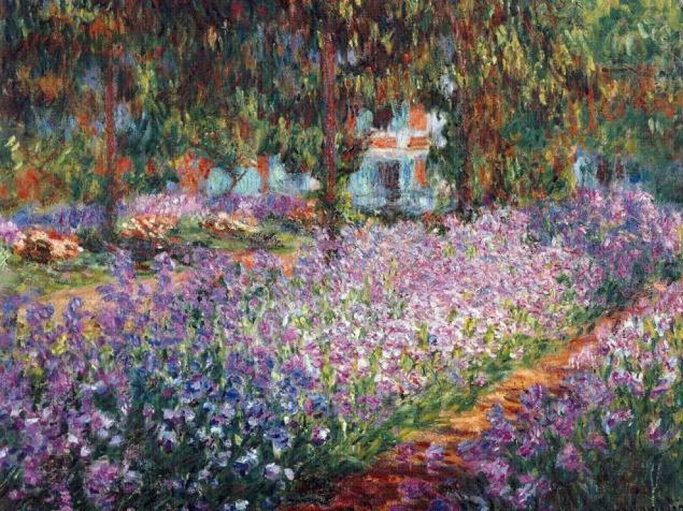 Este cuadro de Monet será recreado