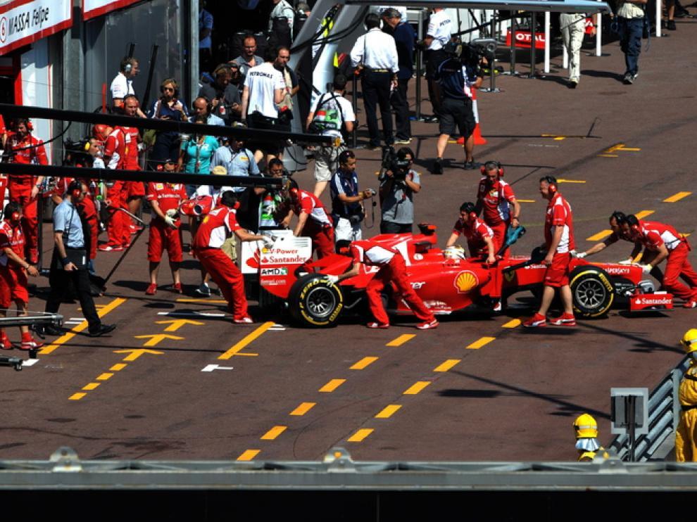 Alonso, en Mónaco