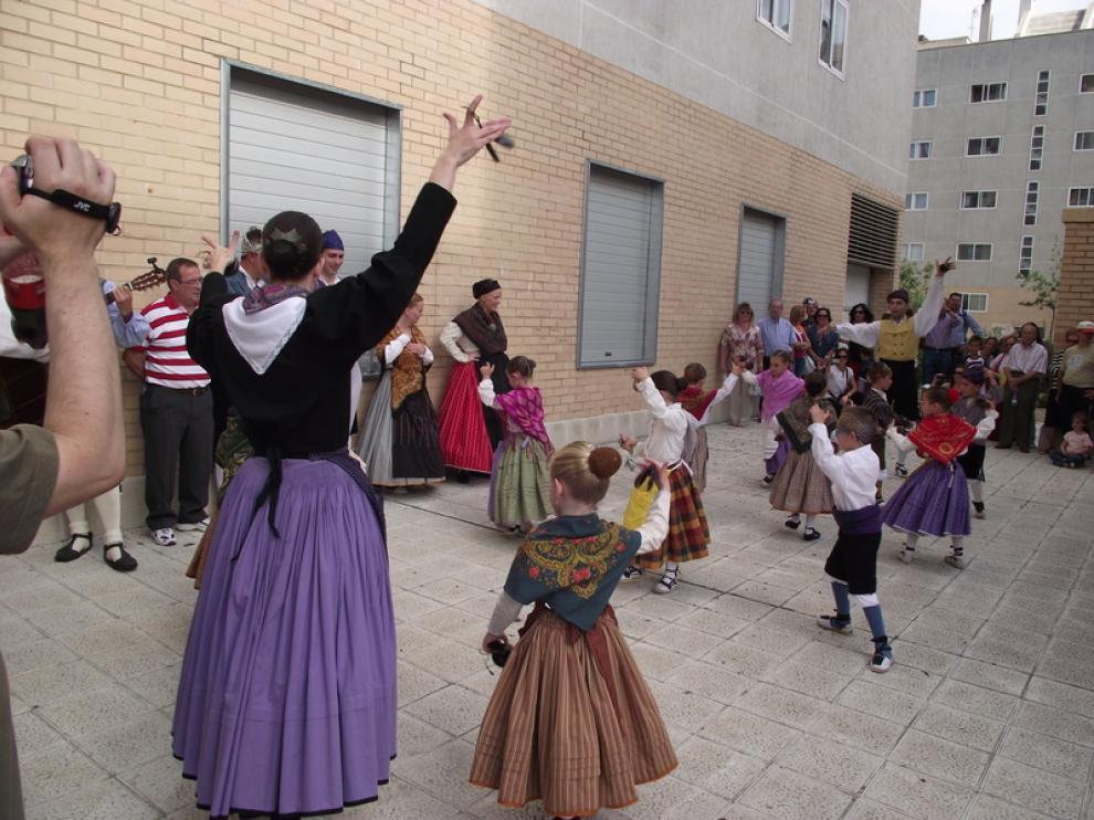 Fiestas de Parque Goya en años anteriores.