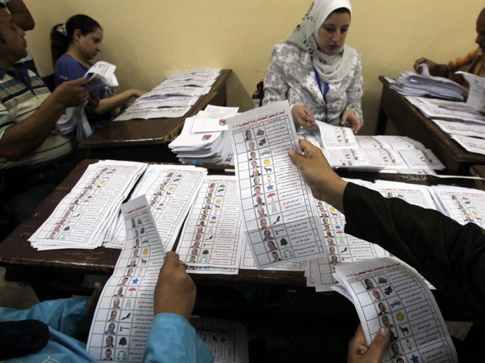 Comienza el recuento en Egipto