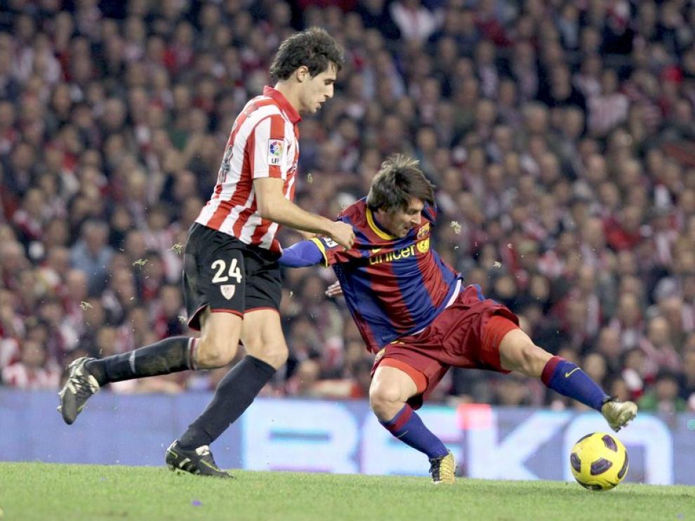 Javi Martinez volverá a ser la sombra de Leo Messi en la final