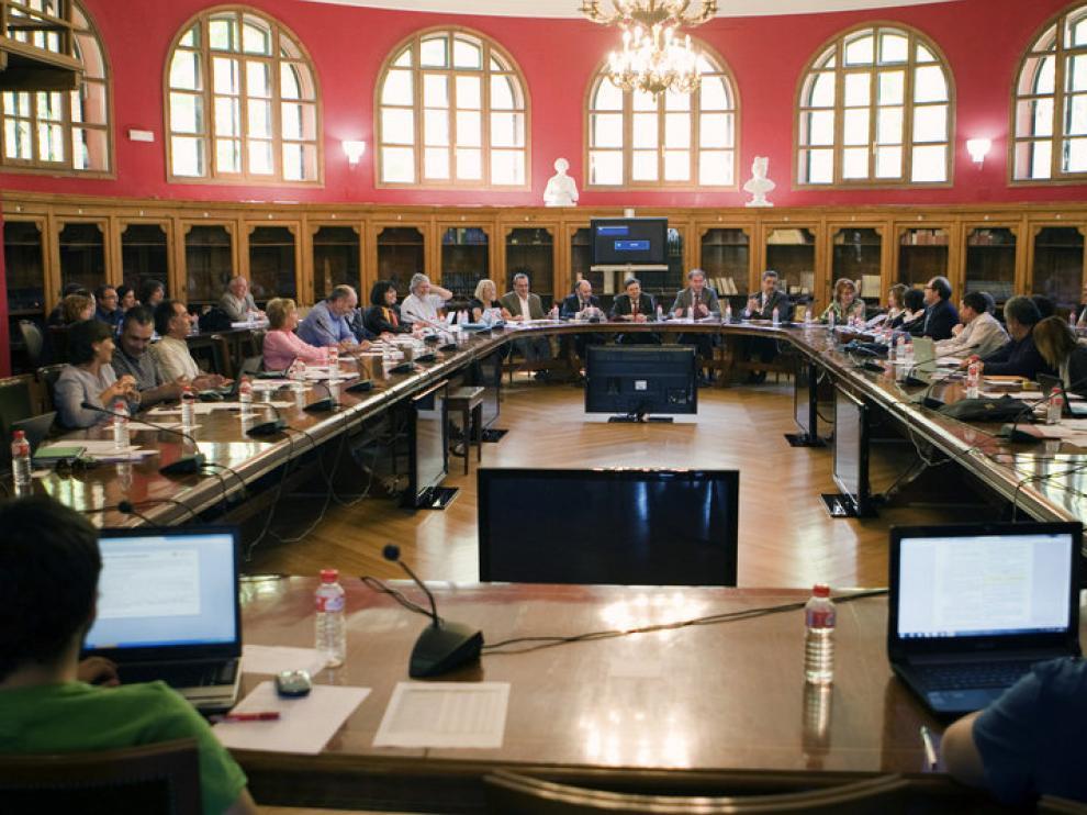 La universidad presentó el anteproyecto de presupuestos para 2012