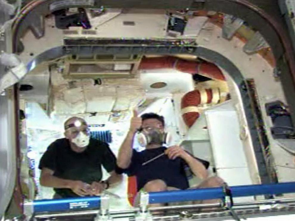 Un fotograma del vídeo de la NASA