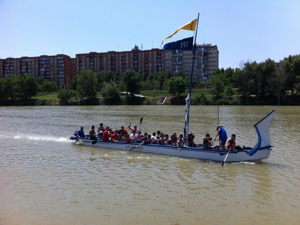 Vadorrey ha celebrado este domingo el Día del Ebro
