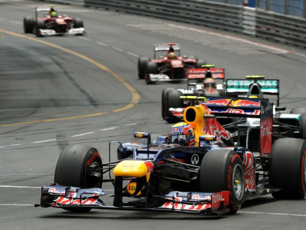 Mark Webber ha conseguido la victoria en Mónaco