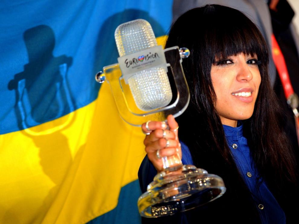 Loreen, ganadora de Eurovisión 2012