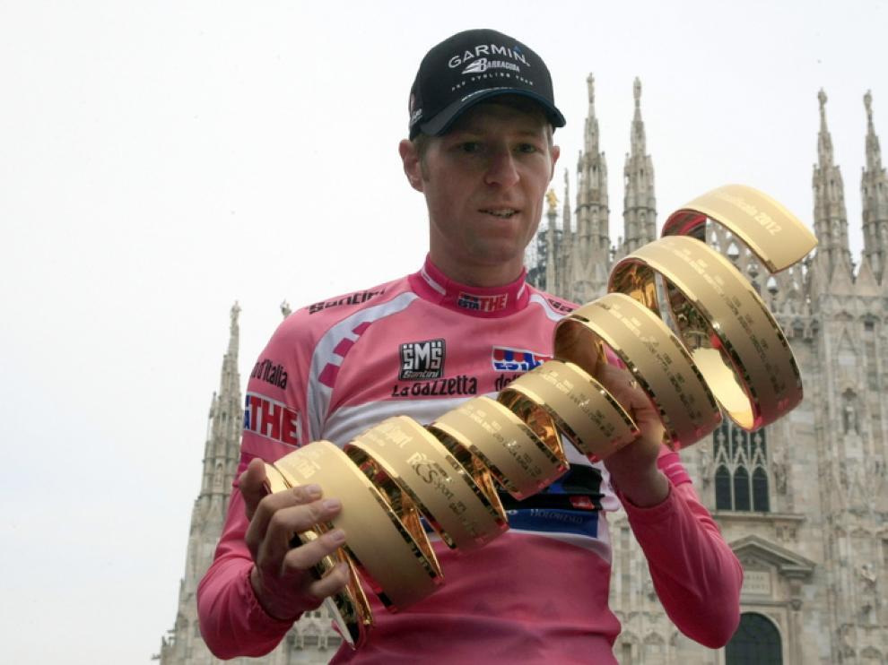 Hesjedal, vencedor del Giro