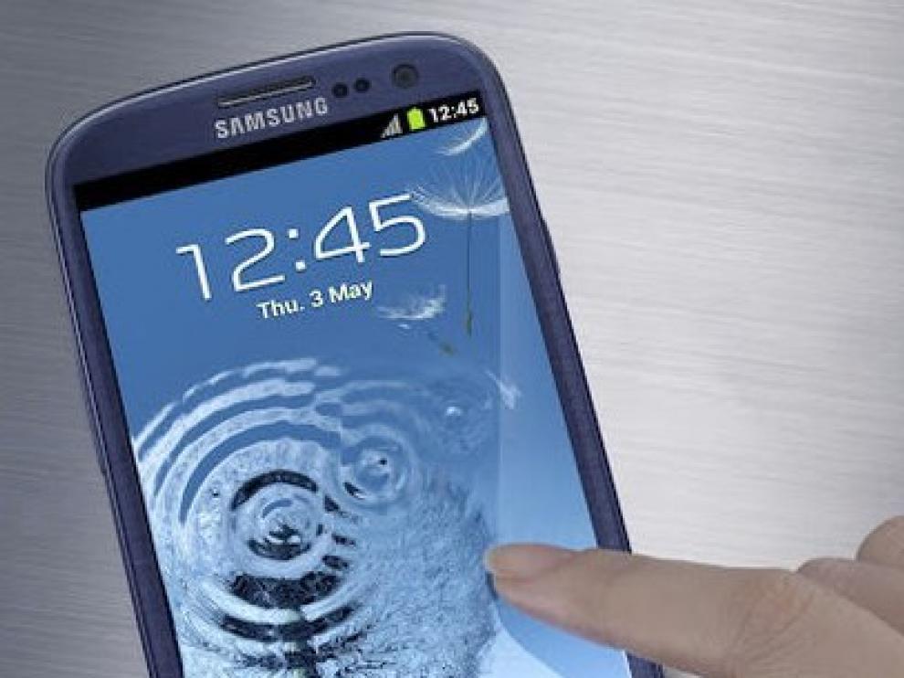 El modelo Samsung Galaxy S III estará a la venta a partir de este martes.
