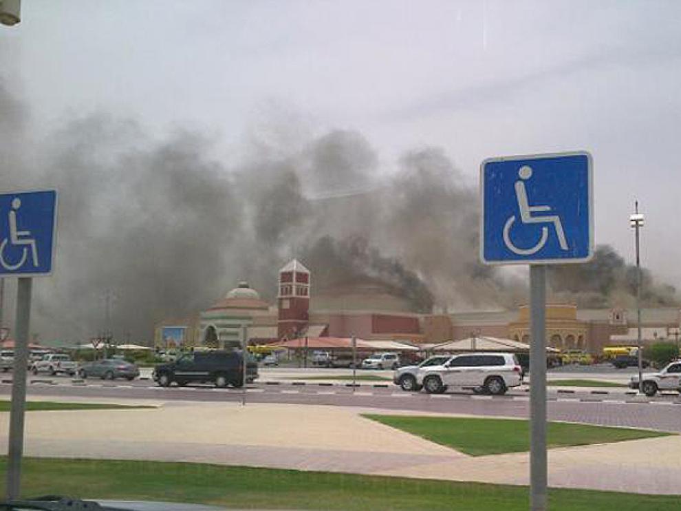 Incendio en un guardería de Doha
