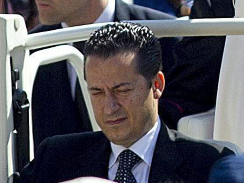 Paolo Gabriele, mayordomo de Benedicto XVI