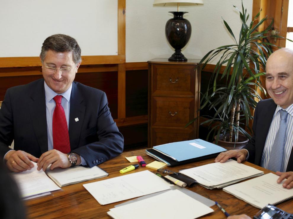 El alcalde de Teruel, Manuel Blasco