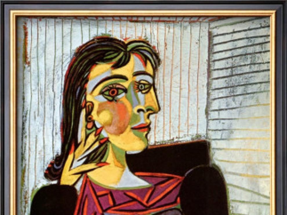 Uno de los retratos que el pintor hizo de su amante, Dora Maar.