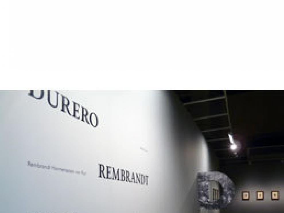 Durero-Rembrandt-Goya, en el Camón Aznar