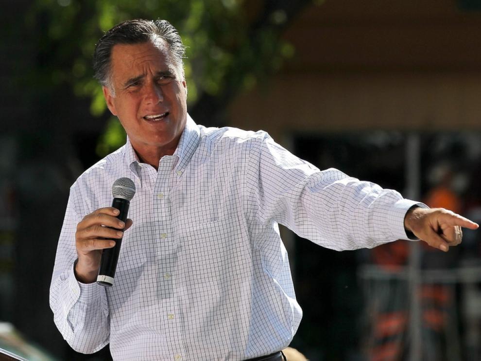 El candidato acorta distancias con Obama.