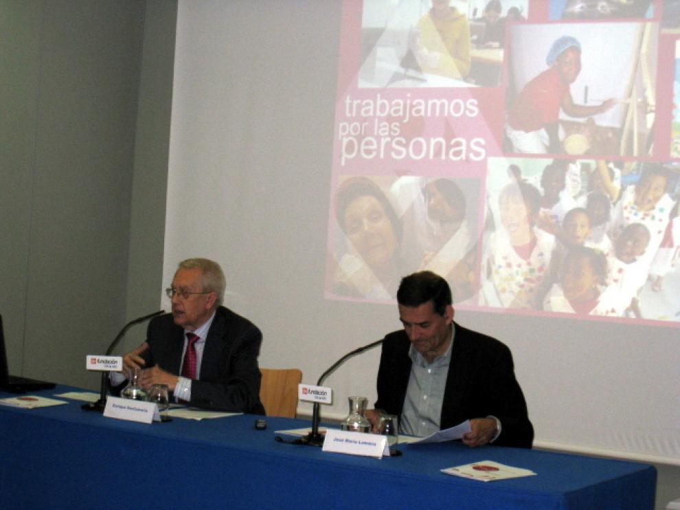 Presentación de la Memoria 2011 de la Federico Ozanam