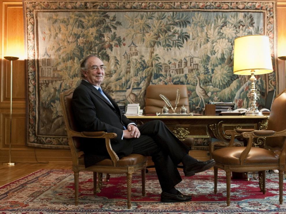 Amado Franco, presidente de Ibercaja Banco.