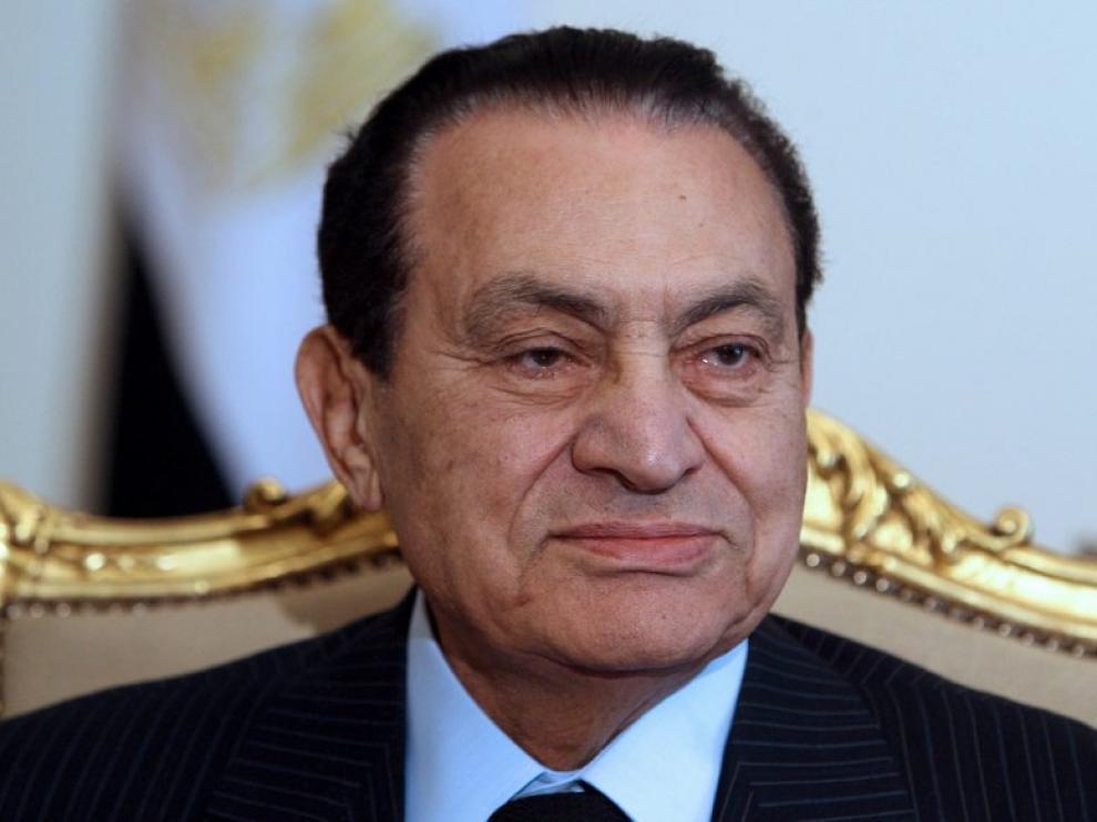 Imagen de archivo de Mubarak del 9 de febrero de 2011