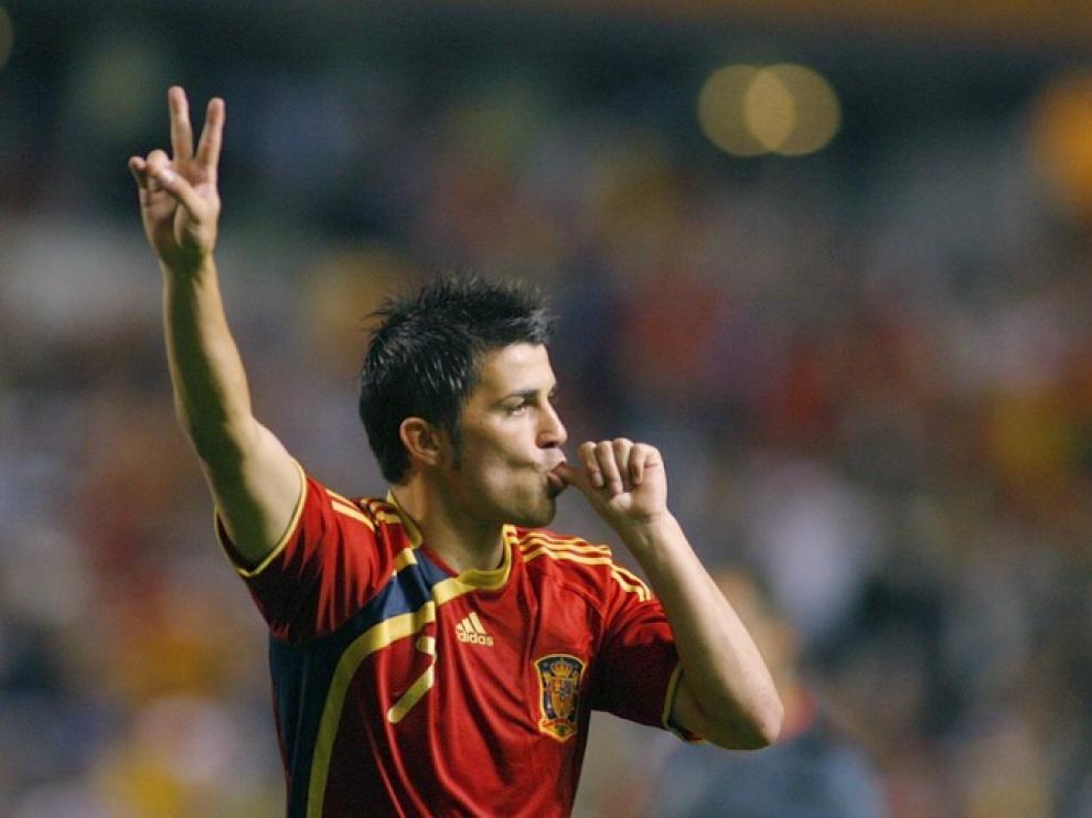 Villa, máximo goleador de la Roja, no estará en el Europeo