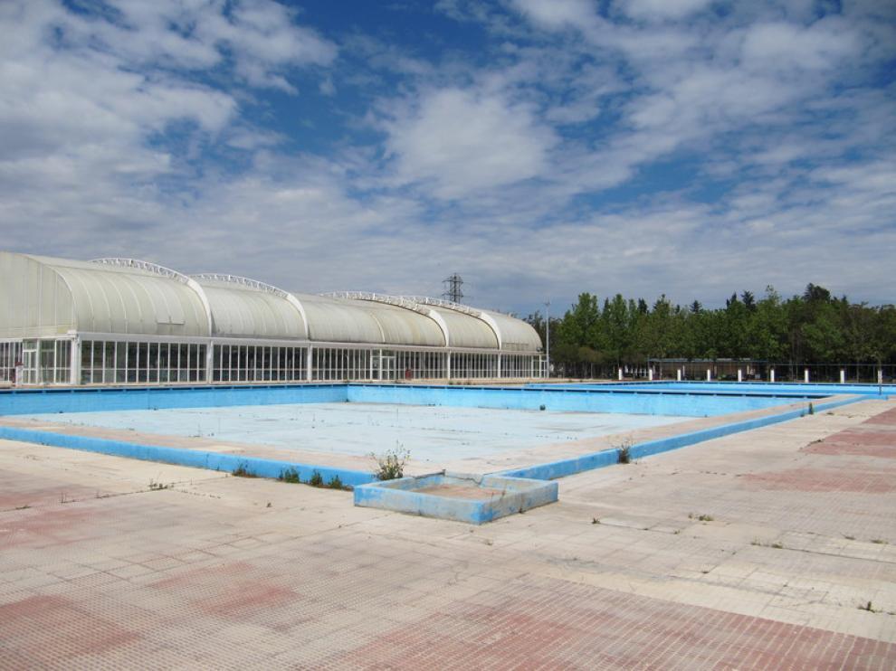 Piscinas del Parque Deportivo Ebro