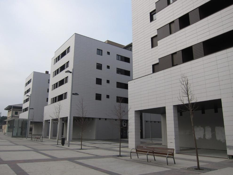 Nuevas viviendas en el solar de la antigua carcel de Torrero