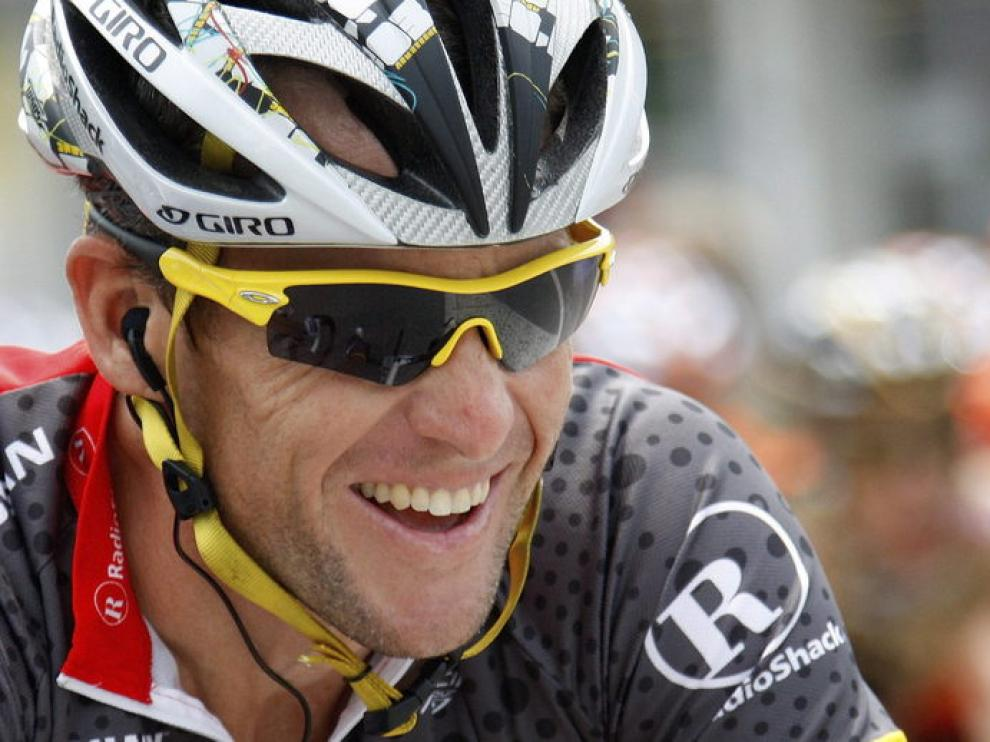 El ciclista Lance Armstrong.