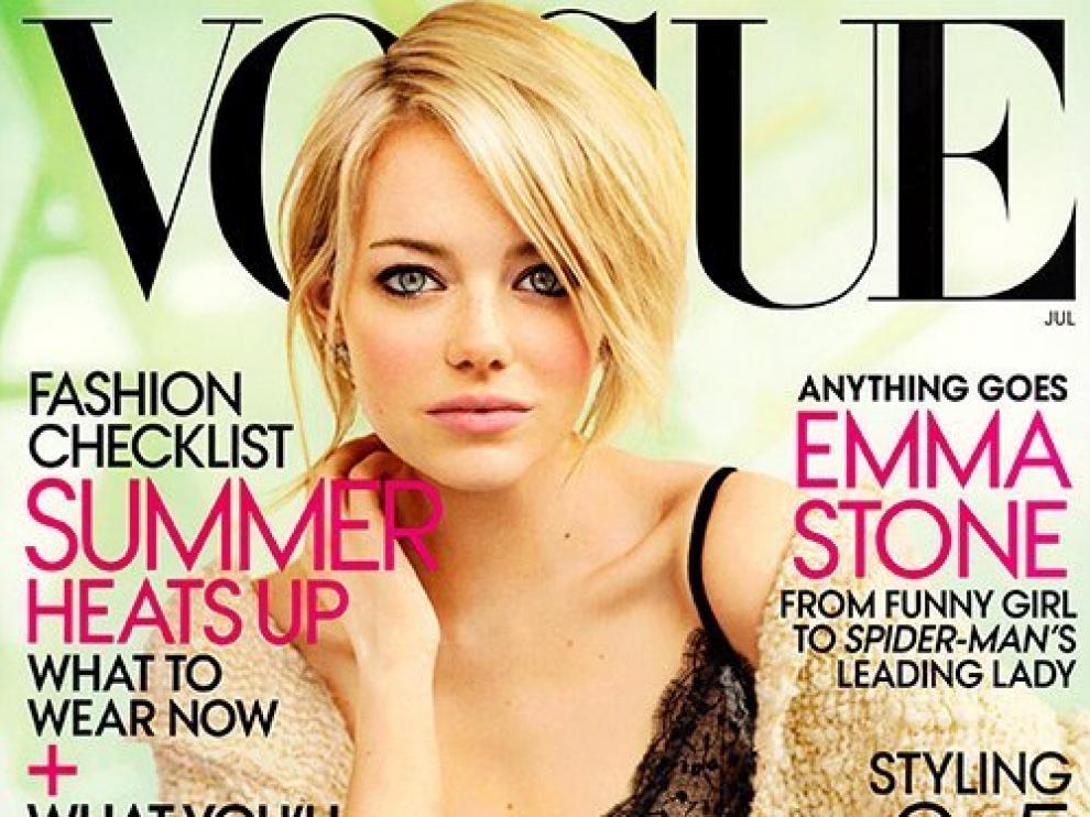 La actriz ha sido portada de Vogue