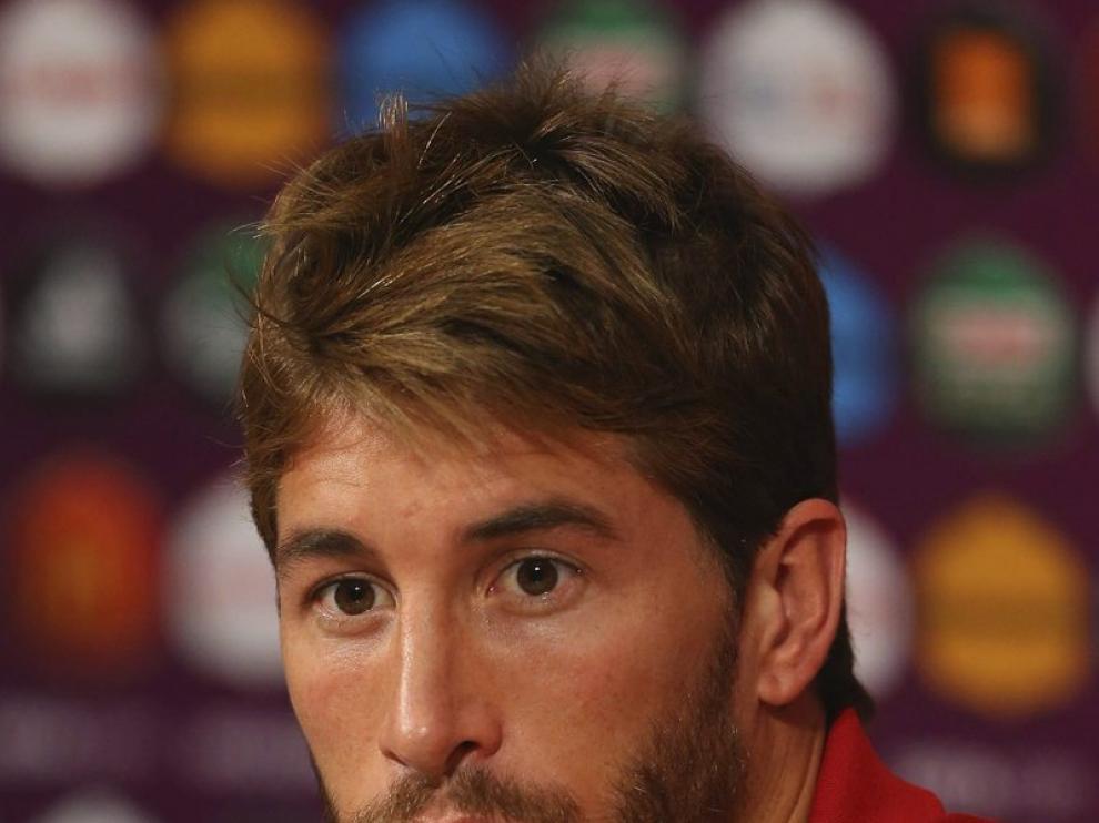 """Sergio Ramos asegura que Benzema """"cualquier segundo que te despistas te hace gol""""."""