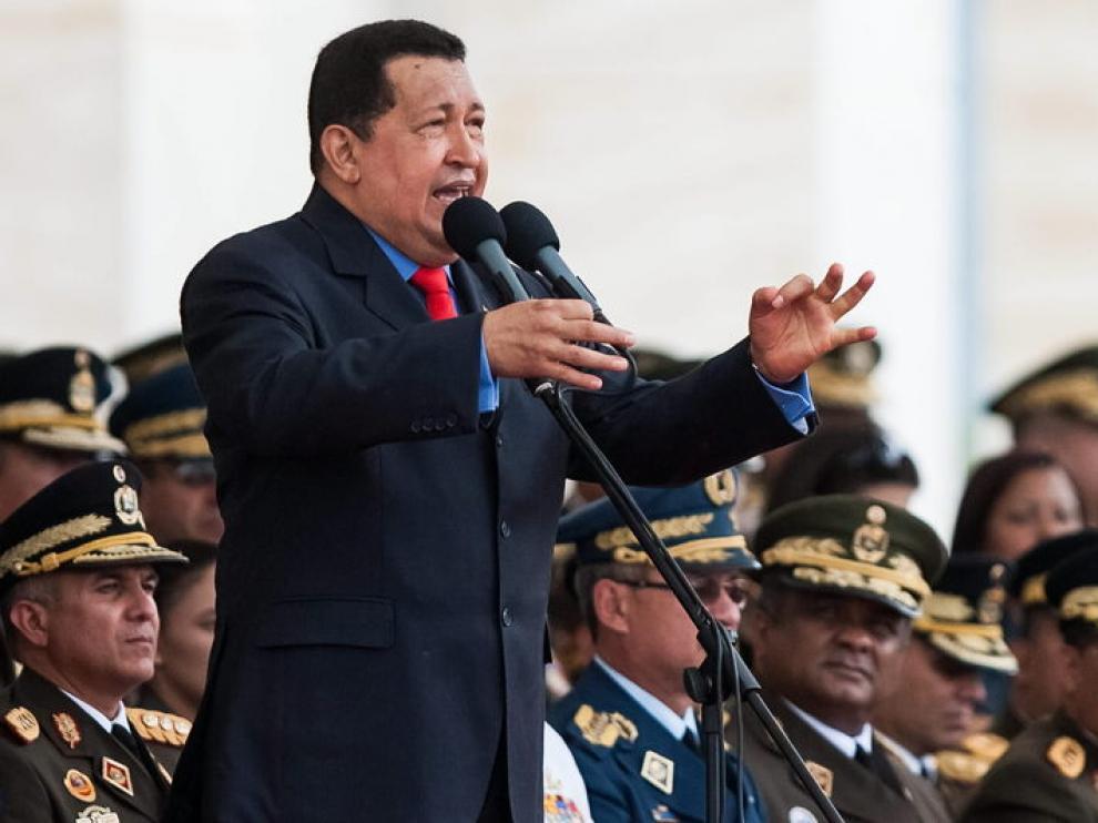 Foto de archivo de Hugo Chávez