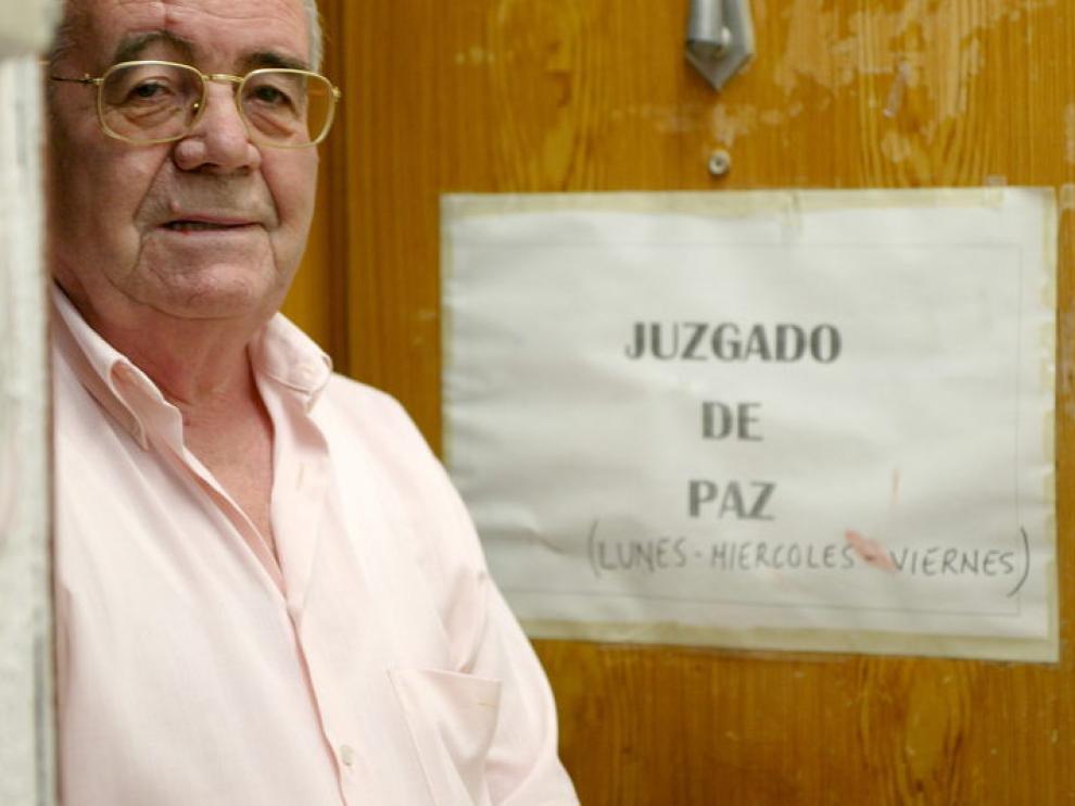 Rafael Garulo, juez de paz de Zuera