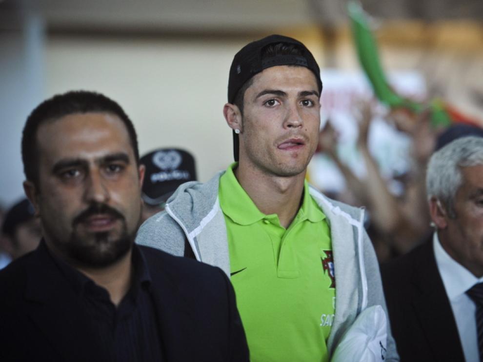 Cristiano Ronaldo, en Kiev