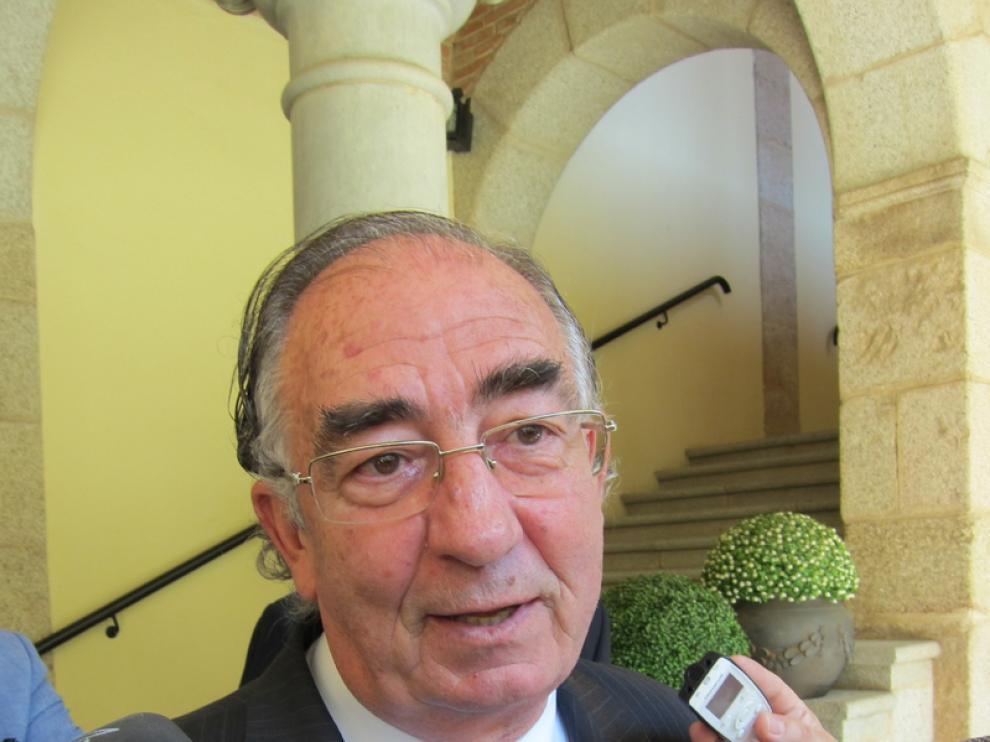 Amado Franco, presidente de Ibercaja