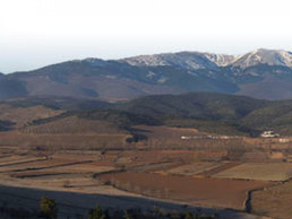 Vista del monasterio de Veruela.