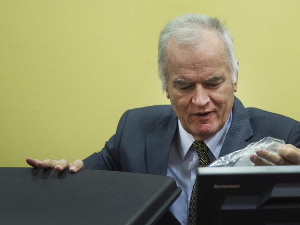 Juicio contra el ex general serbobosnio Ratko Mladic