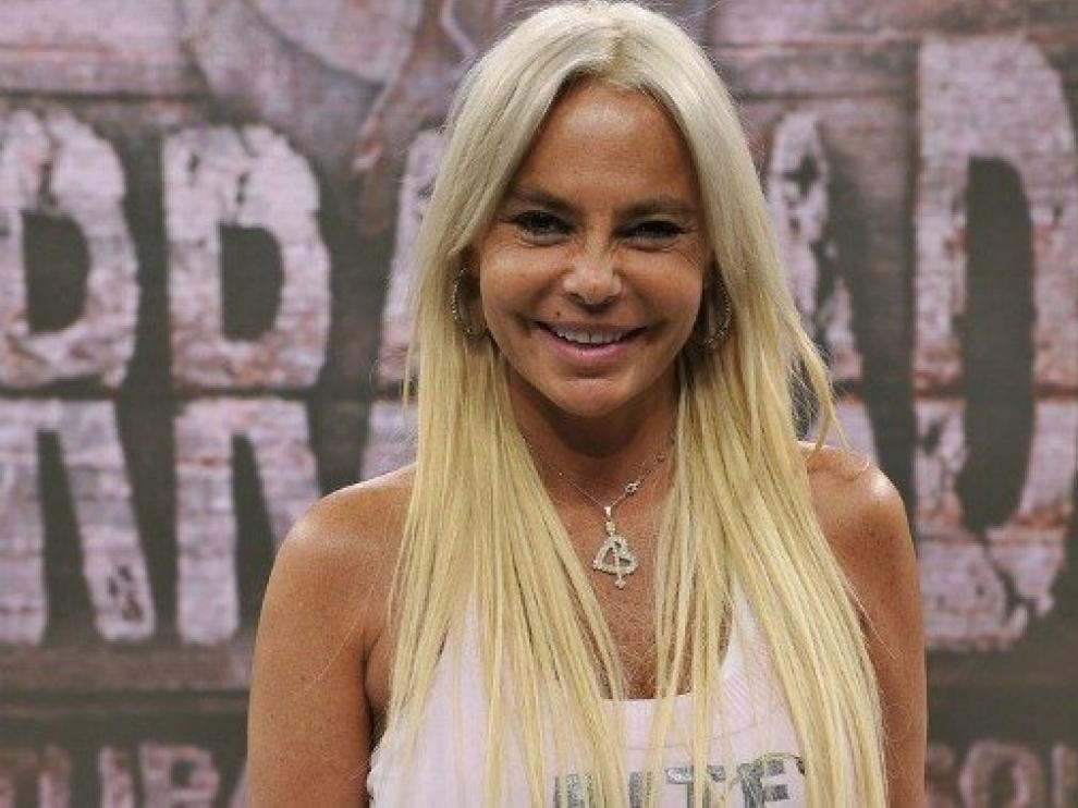 Leticia Sabater, durante su aparición en el programa 'Acorralados' de Telecinco.