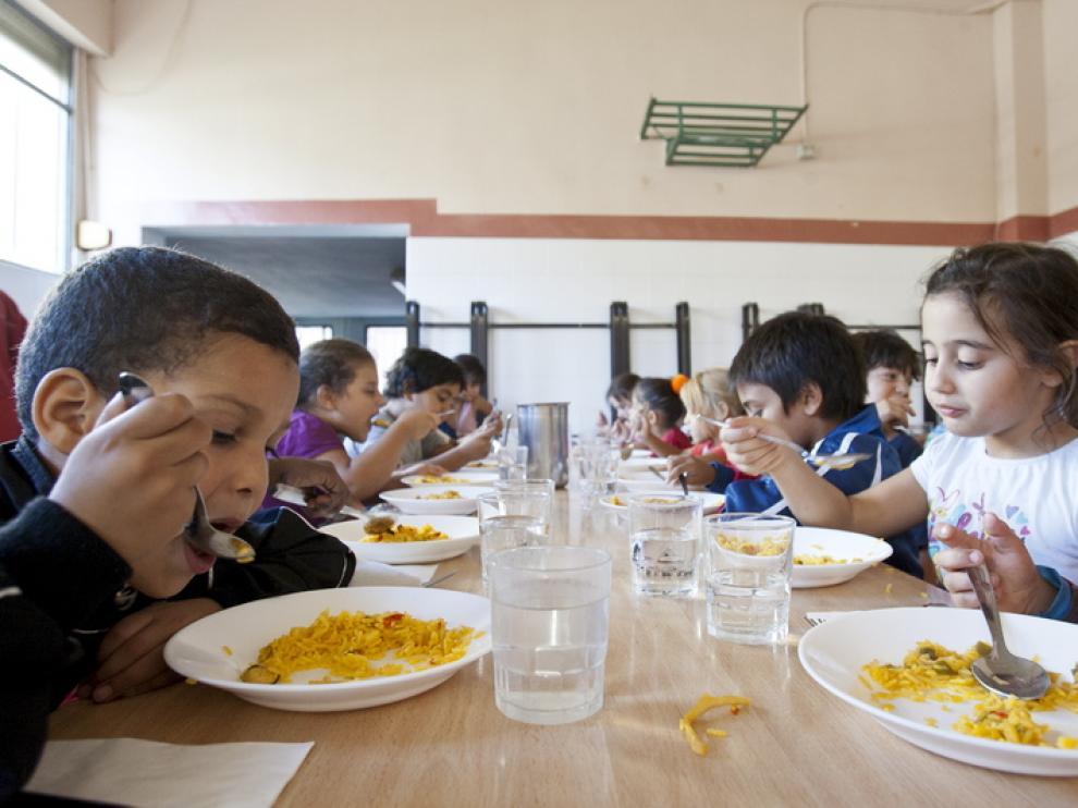 Comedor del colegio Ramiro Solans