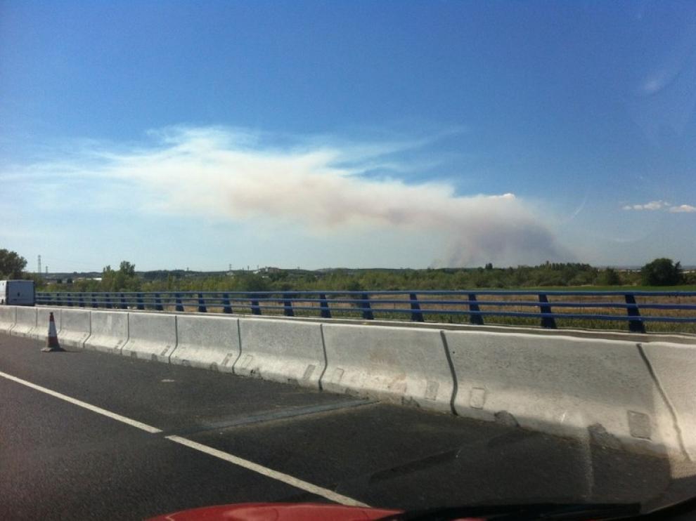 Incendio en San Gregorio