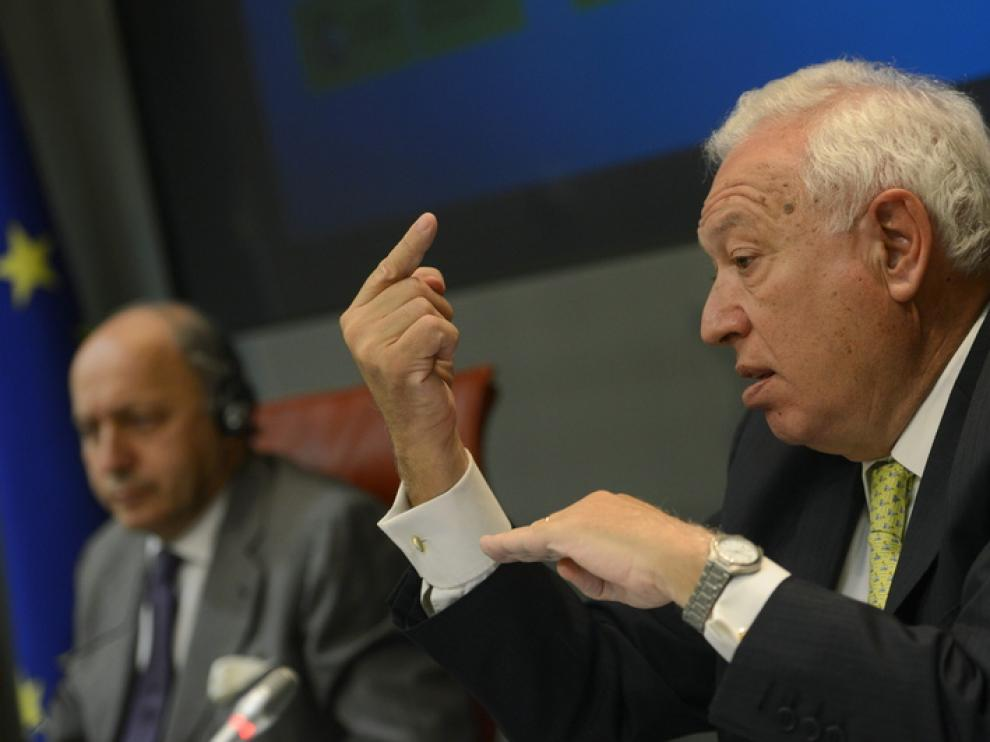 El ministro de Exteriores, José Manuel García-Margallo