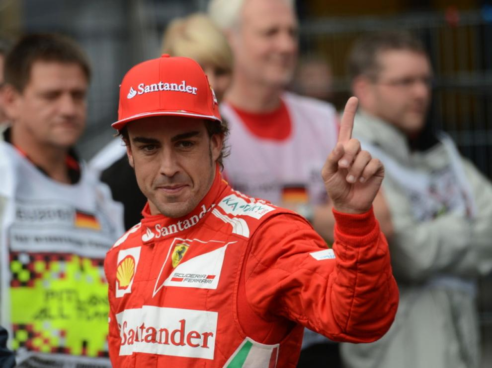 Alonso saldrá primero en Hockenheim
