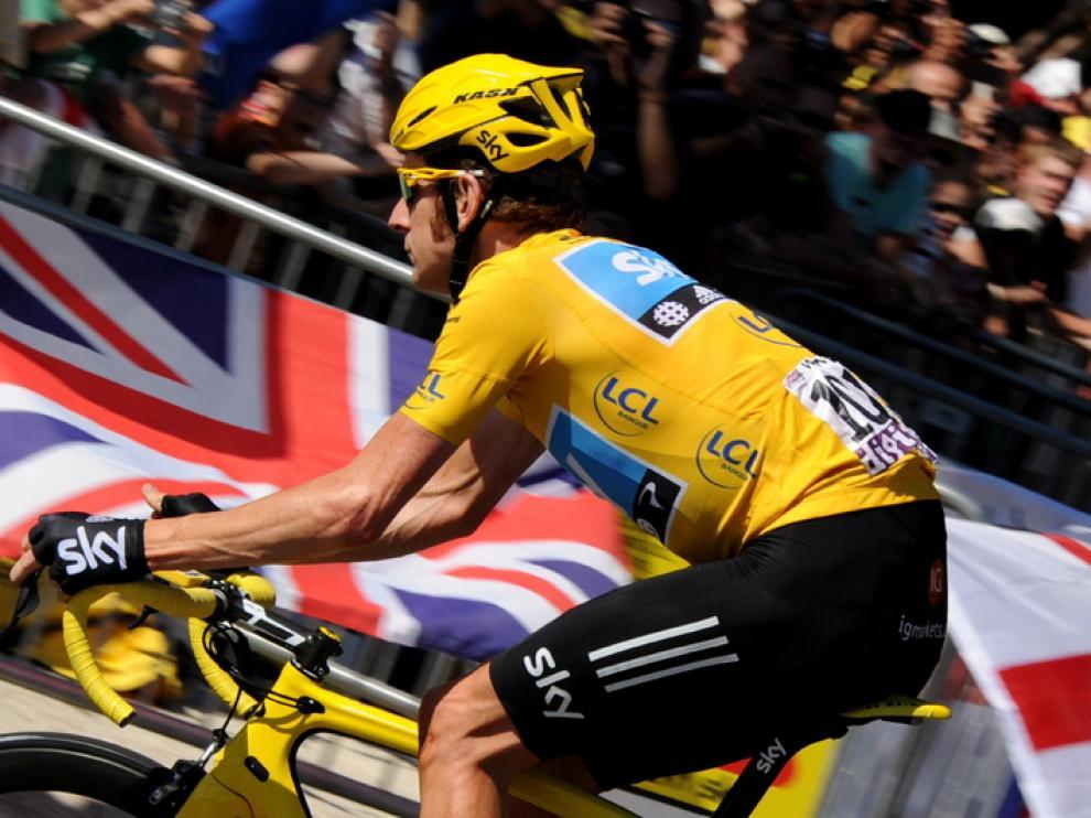 Wiggins, ganador del Tour de Francia