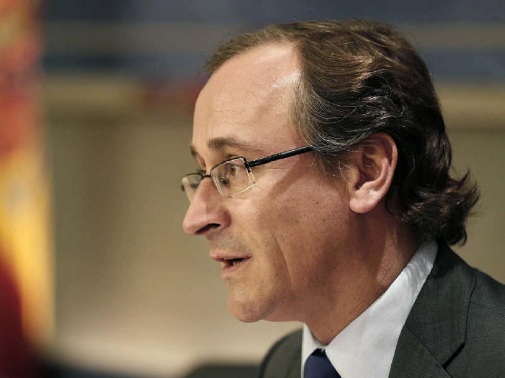 "Alfonso Alonso está seguro de que Europa ""va a reaccionar de una manera adecuada""."