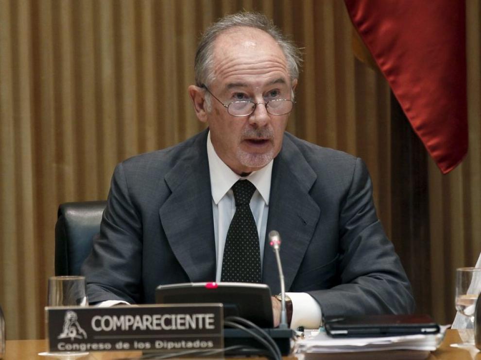 Rodrigo Rato ante el Congreso