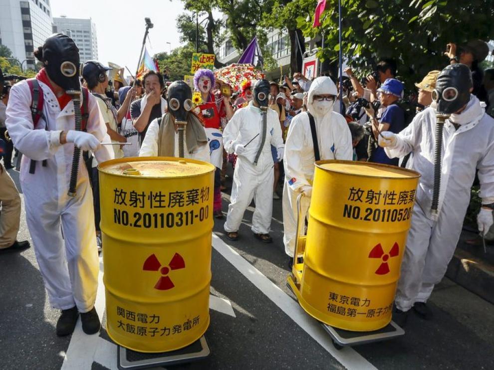 Manifestaciones contra la energía nuclear
