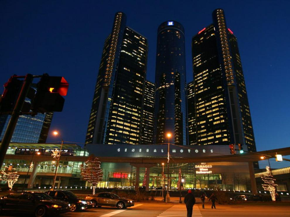 Sede de General Motors en Detroit (EE. UU.)