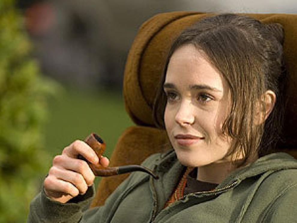 La joven actriz Ellen Page