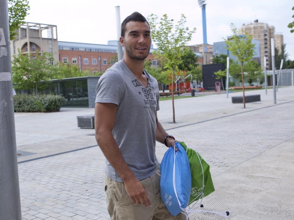 Iván Obradovic, jugador del Real Zaragoza